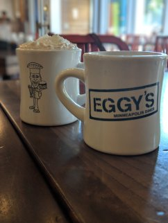 Coffee and Hot Chocolate at Eggy's