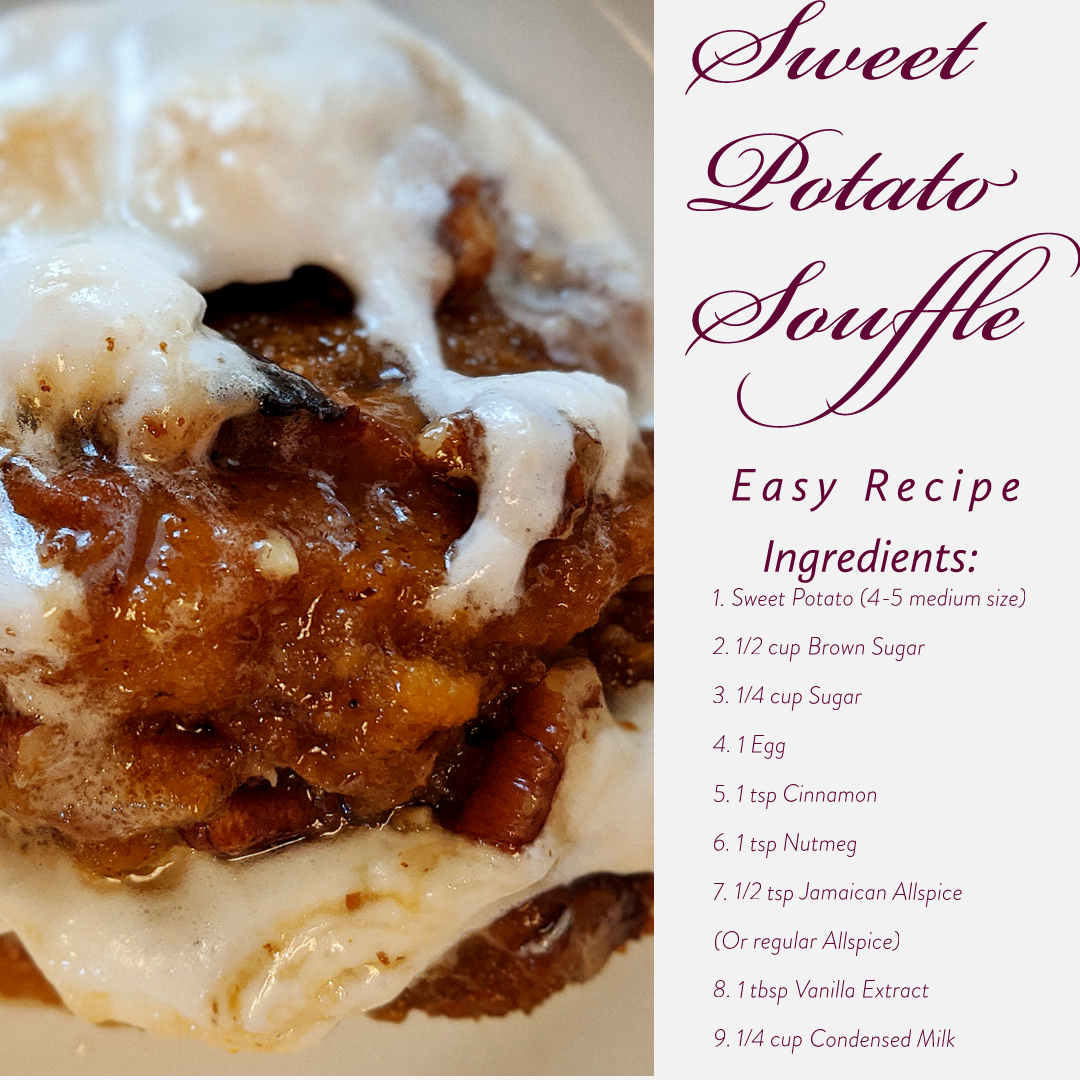 Meals and Mile Sweet Potato Souffle Recipe