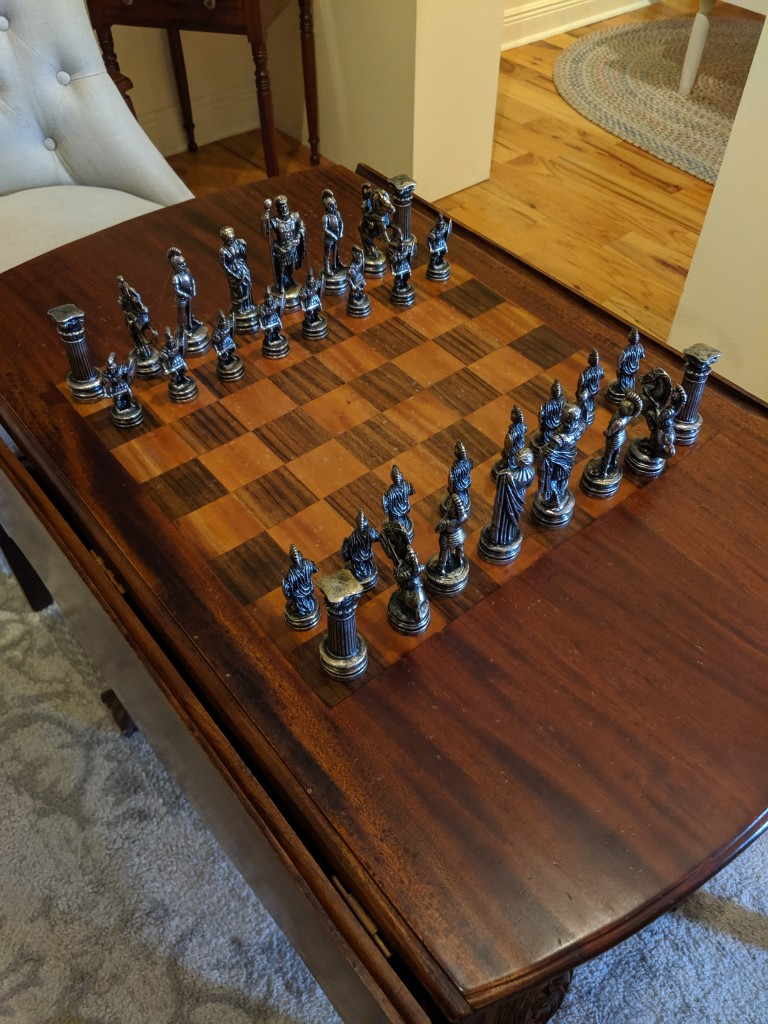 Winter Park Historical Hotel Exhibit - Chess Game