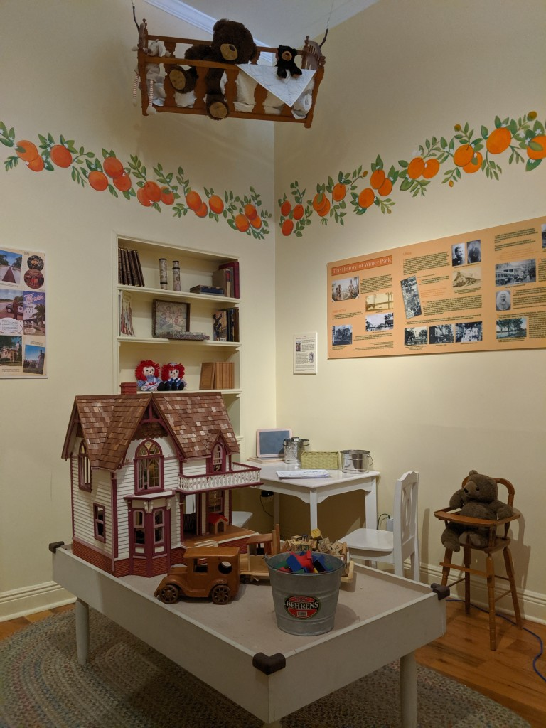 Winter Park Historical Hotel Exhibit - Kids Area