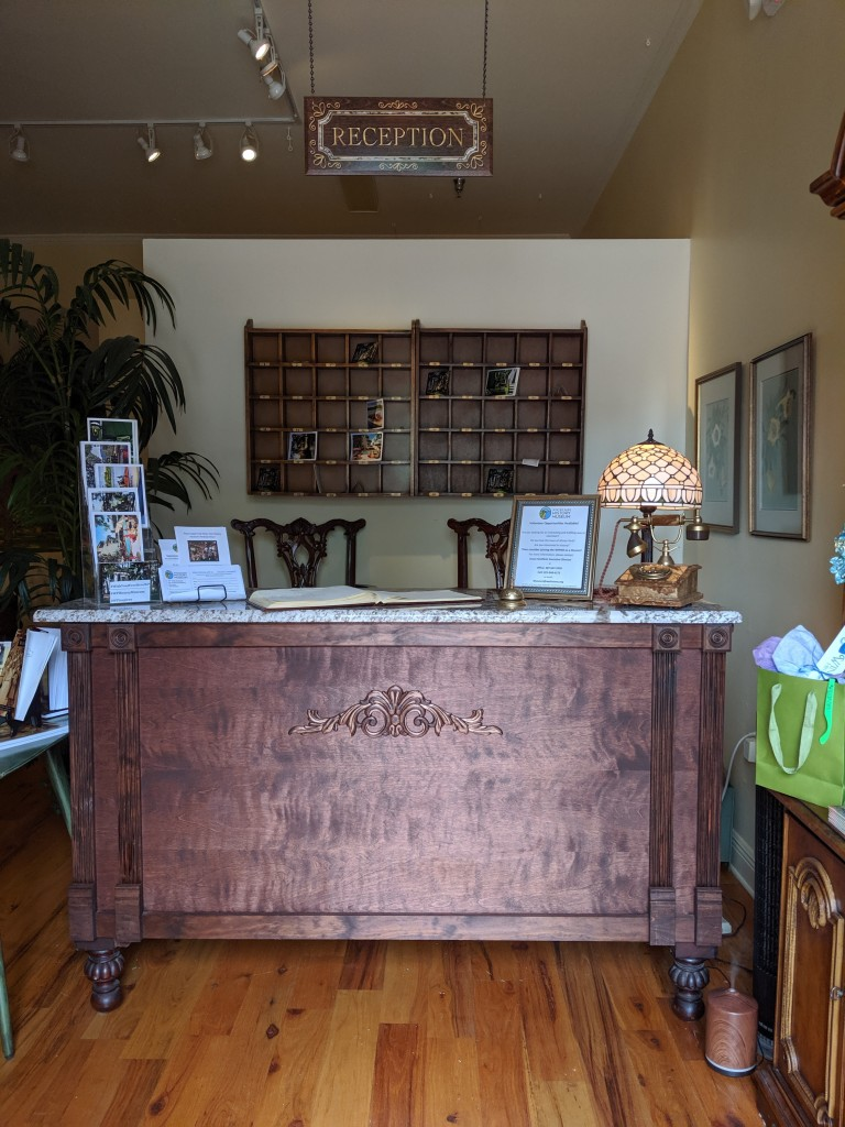 Winter Park Historical Hotel Exhibit - Front Desk