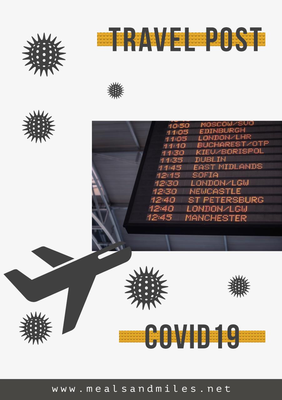 Travel Post CoronaVirus